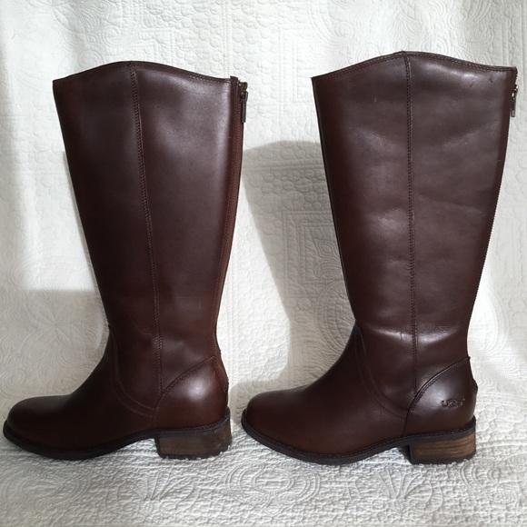 3079fea3e62 ❤️NWT❤️UGG Seldon Dark Chestnut Boots $140 NWT